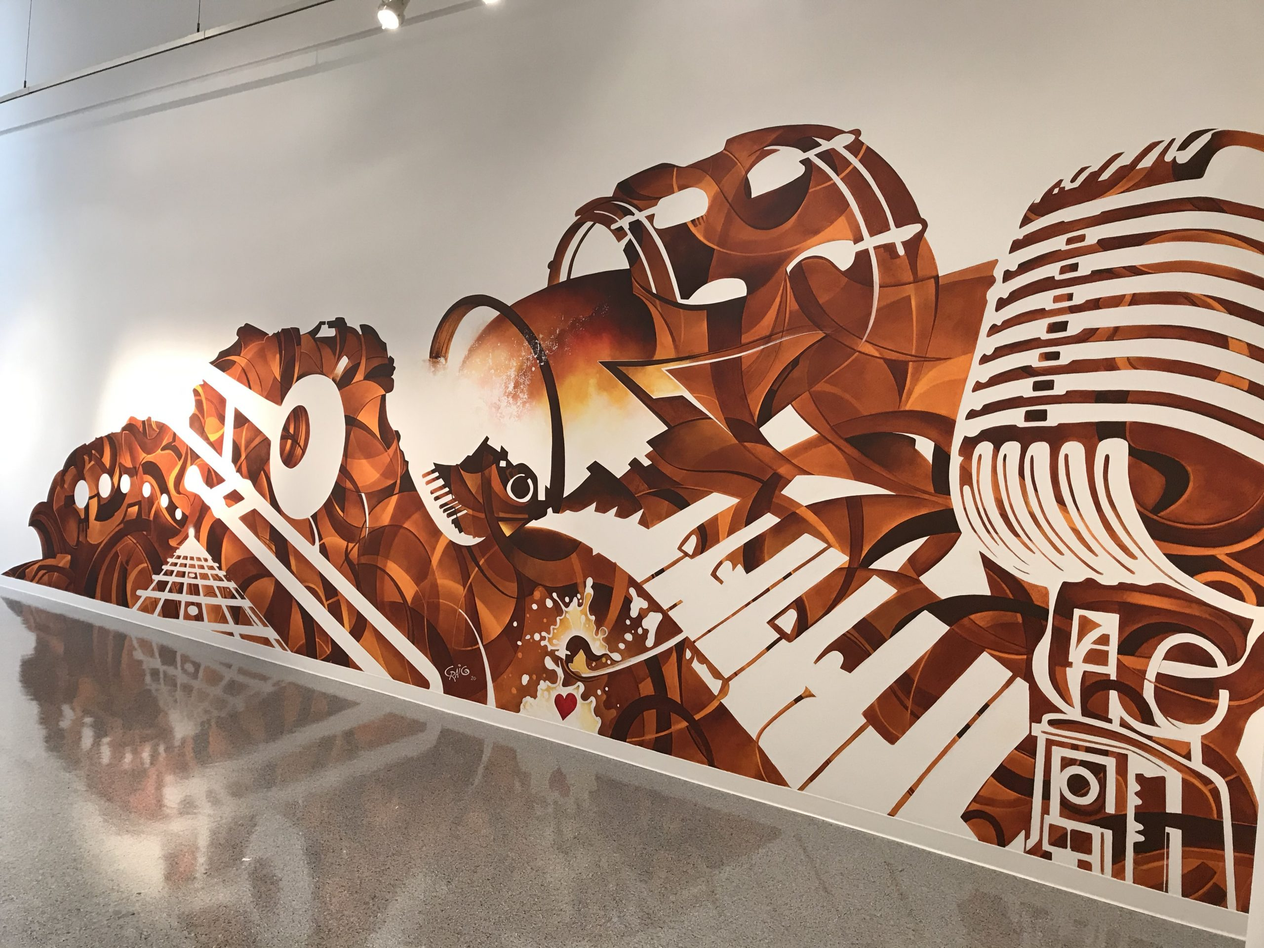 New Mural – Cherised graphic